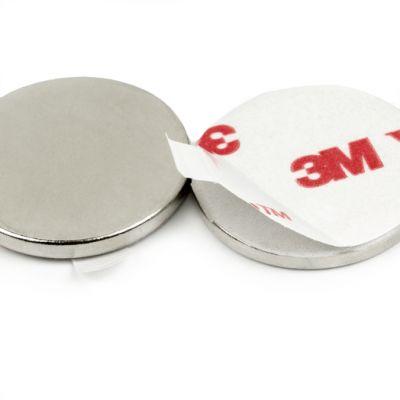 Selvklebende disk magnet Ø 12 x 2 mm