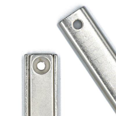 Sterk magnetplate 40 mm, med to skruehull