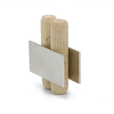 Tynn magnetplate 30 x 15 x 1 mm