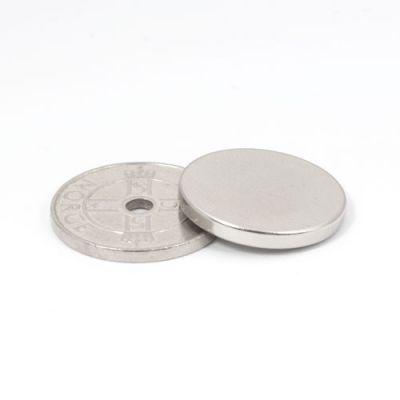 Diskmagnet Ø 20 x 2,5 mm