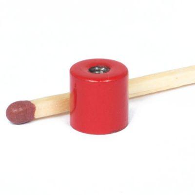 AlNiCo sylindrisk magnet Ø 8 x 8 mm, M3 gjenge