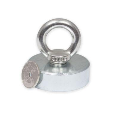 Pot Magnet Ø 50 x 15 mm med innvendig gjenge