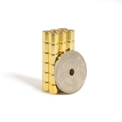 Gull stav magnet Ø 5 x 5 mm