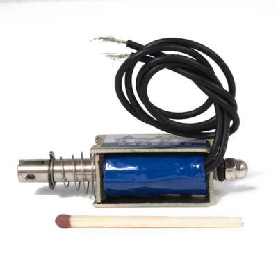 Trekk-type elektromagnet 12V trekkraft 0,5 kg