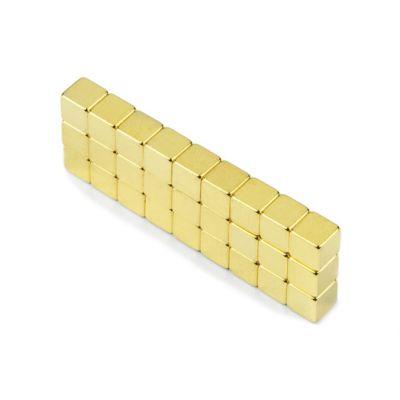 Kube magnet 5 mm, gull