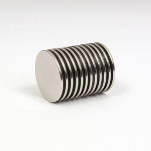 Tynn magnetskive Ø 18 x 1 mm