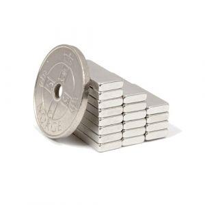 Blokk magnet 15 x 6 x 2 mm