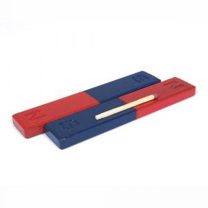 Sett med 2 blokk magneter til eksperimentering 100 x 20 x 7 mm