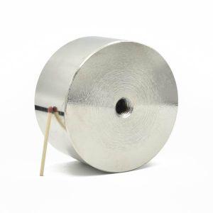 Pot magnet Ø 85 x 45 mm, M12 gjenge