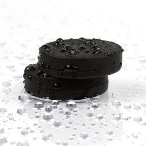 Gummiert magnet Ø 16,8 x 4,4 mm