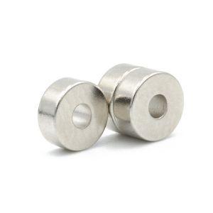 Ring magnet Ø 6/2 mm x 2,5 mm, diametrisk
