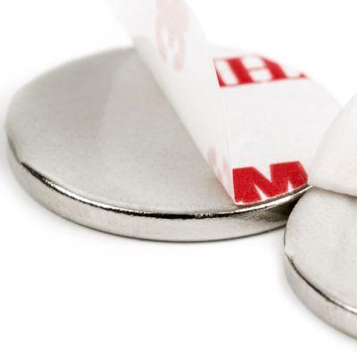 Selvklebende disk magnet Ø 15 x 2 mm