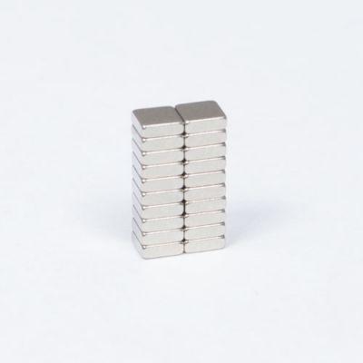 Blokk magnet 3 x 3 x 1 mm