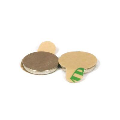 Selvklebende disk magnet Ø 8 x 1 mm