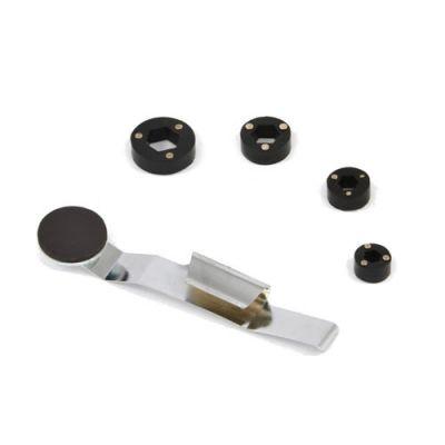 Magnetisk mutter og skrueholder, sett med 5 stk.