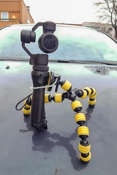 Fleksibelt kamerastativ - DIY