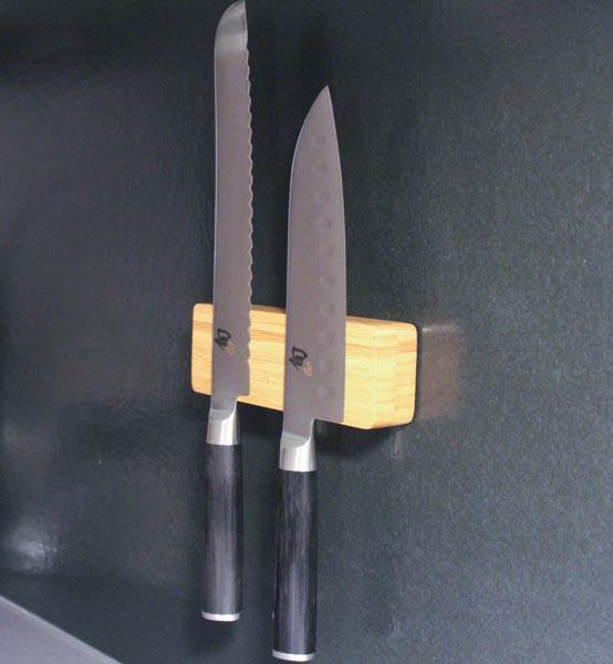 Knivmagnet i tre, gjør det selv