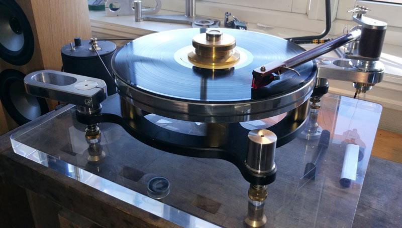 Platespiller for vinylplater