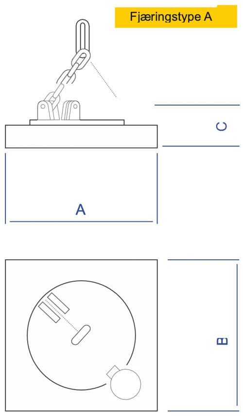 Dimet EMG CU - fjæringstype A
