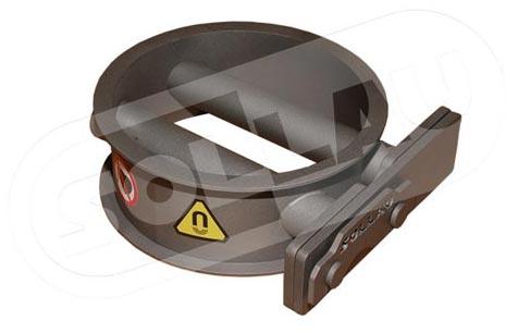 Magnetic grate separator