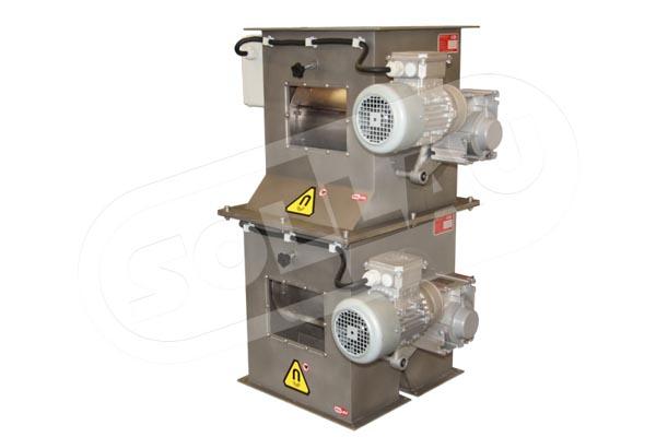 Magnetisk trommel - jernseparasjon