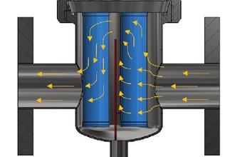 Pipeline magnetic grate separator MSP-MC