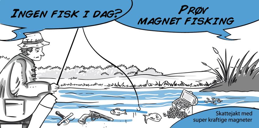 Produkter til magnet fisking