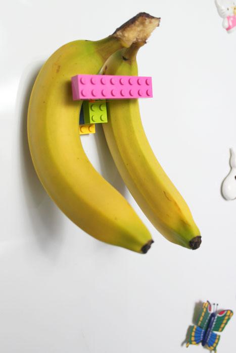Magnetisk LEGO bananholder