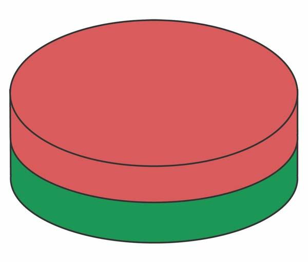Diskmagneter Aksial magnetisering