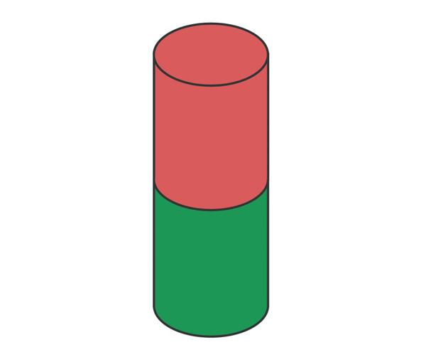 Stangmagneter Aksial magnetisering